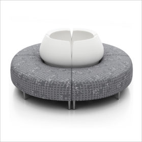 Seating in the round from Krug Zola Series