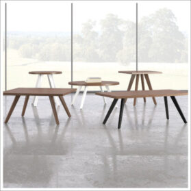 Nationa Tessera Series Tables for reception room furniture