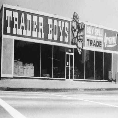 Trader Boys Office Furniture in 1956 at 11535 W Pico Blvd in West Los Angeles