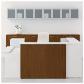 national Waveworks series Reception Desk for Lobby